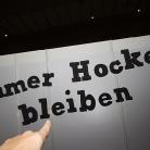 Immer Hocker bleiben / Foto: Susanne Wilke