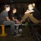 JayJay48, Alfred Hitchhock & Merle am chilln / Foto: Susanne Wilke