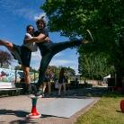 Zoe & Marc P / YOU 2016 / SALZIG Sporthocker / Foto: Stephan Landschütz