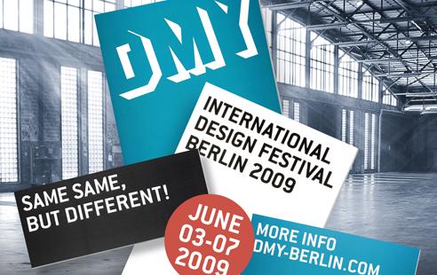 DMY International Design Festival 2009 in Berlin mit SALZIG Sporthocker