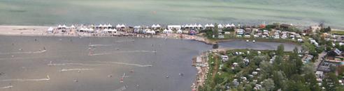 Surf Festival Gelaende Stevens Fehmarn SALZIG Sporthocker