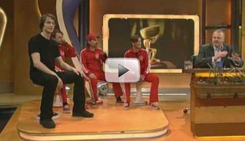 TV Total - Hockern bei Stefan Raab - 2008